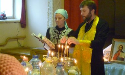 Настоятель Покровского храма села Натальевка посетил хутор Николаево-Отрадный