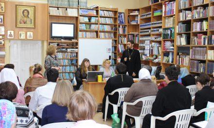 Новые технологии социальной работы в приходах обсудили специалисты отдела по церковной благотворительности и представители трех благочиний Ростовской епархии