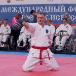 Сергей Бурлаков победил на Всероссийском турнире по пара-каратэ Международного фестиваля на «Кубок равноапостольного Николая Японского»