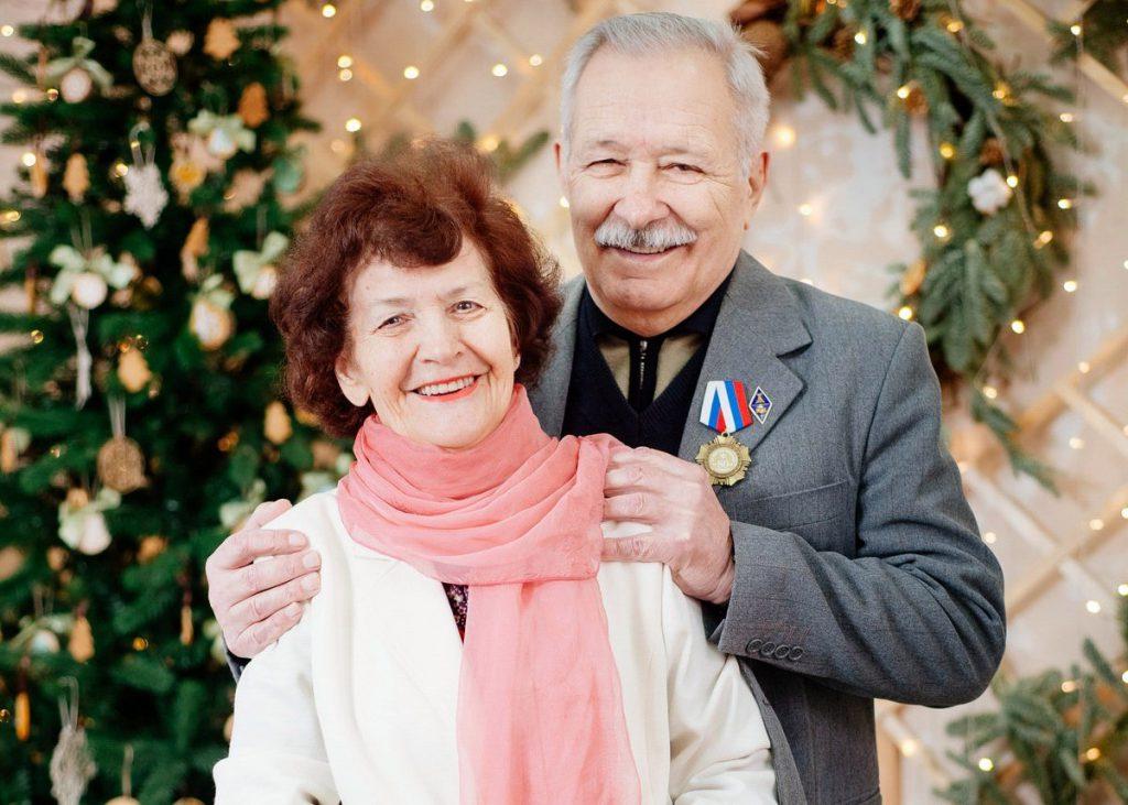 Николай Кривун с супругой Валентиной