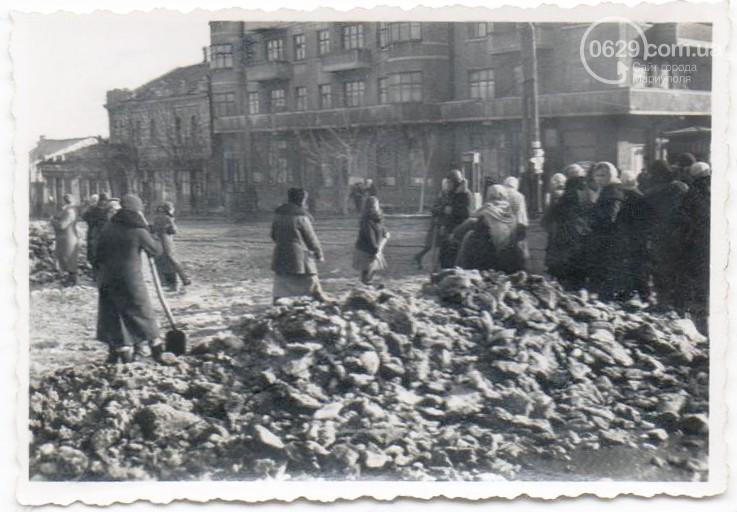 Мариуполь после освобождения от немецко-фашистских захватчиков