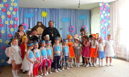В детском саду c. Андреево-Мелентьево показан спектакль духовно-нравственного содержания «Воскресная сказка»