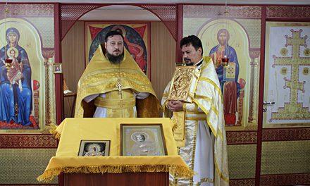 В Серафимовском приходе г. Таганрога совершена первая Божественная литургия