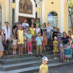 В Воскресной школе Сергиевского храма Таганрога завершила свою работу летняя площадка для учеников