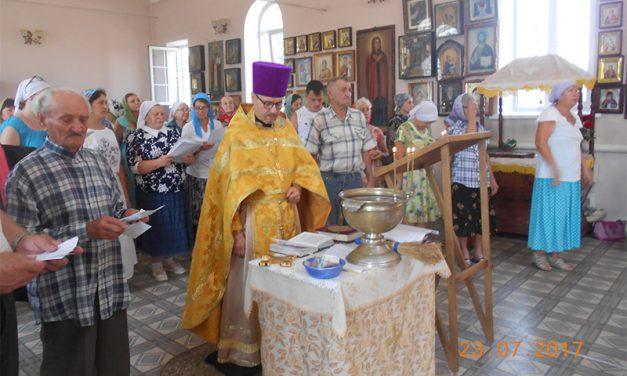 В Вознесенском храме с. Новобессергеневка совершён молебен об исцелении страждущих