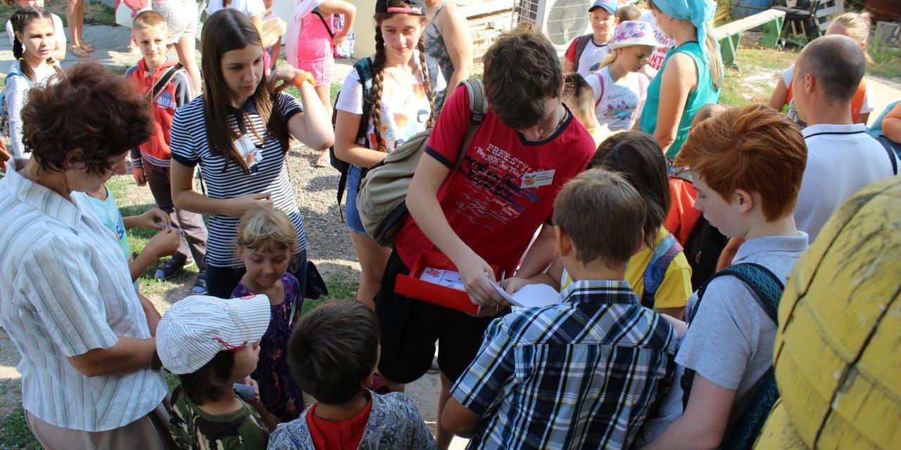 17 июля молебном открылся летний лагерь при Никольском храме г.Таганрога.