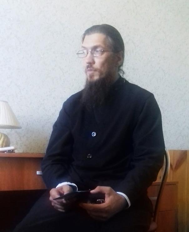 Настоятель Дивногорского монастыря иеромонах Алексий (Сукачев)