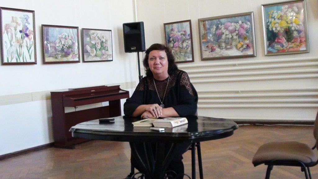 Писательница Ирина Ордынская