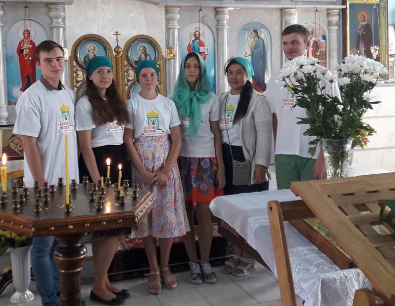 Продолжается реализация исторического проекта Павловского молодежного клуба Таганрогского благочиния