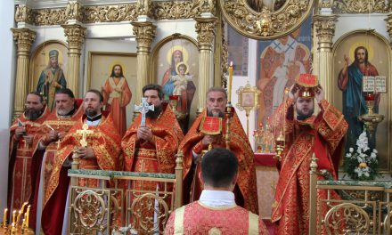 В день памяти святой Марии Магдалины в Магдалининском храме х. Красный Десант прошли торжества в честь престольного праздника
