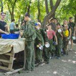 В Таганрогском благочинии завершилась работа летнего военно-спортивного лагеря для детей и подростков