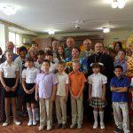 Настоятель Сергиевского храма поздравил воспитанников социального приюта Таганрога с началом нового учебного года