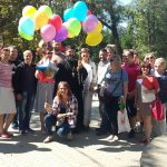 В таганрогском парке им. Горького прошла благотворительная акция для детей-сирот
