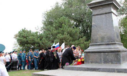 Священнослужители таганрогских храмов приняли участие в торжественных мероприятиях ко дню города