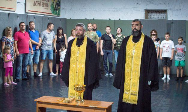 Состоялось освящение помещений клуба «Ставрос»