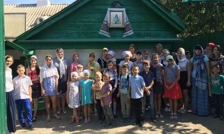 Учащиеся воскресной школы Сергиевского храма совершили паломническую поездку по святым местам г. Таганрога