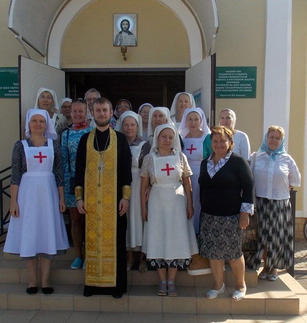 В день памяти благоверного князя Александра Невского в часовне в его честь был отслужен водосвятный молебен