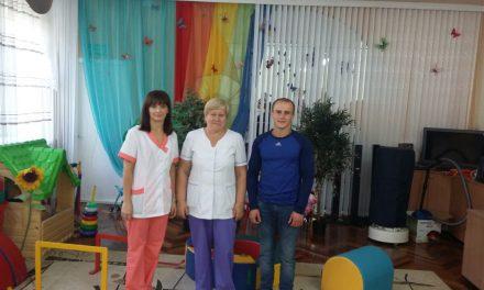 Впервые инструктором клуба «Ставрос» проведены занятия для воспитанников таганрогского специализированного дома ребёнка