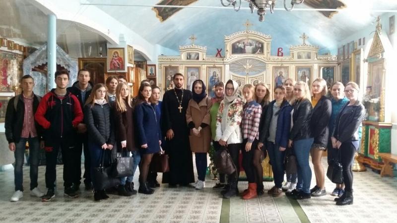В храме Рождества Пресвятой Богородицы г. Таганрога состоялась встреча со студентами Педагогического института
