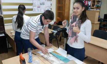 В православном молодёжном клубе «Лоза» прошёл мастер-класс по технике анимации