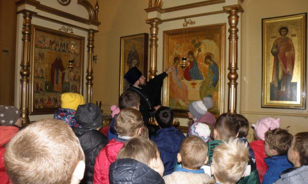 Для учащихся школы № 5 состоялась экскурсия в Сергиевском храме г. Таганрога
