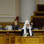 Выступление Святейшего Патриарха Кирилла на 137-й Ассамблее Межпарламентского союза