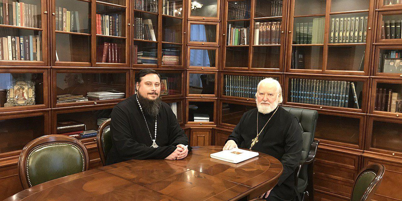 Состоялась рабочая встреча председателя комиссии по канонизации святых Донской митрополии с секретарём Синодальной комиссии по канонизации святых