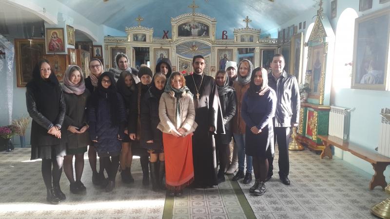 Настоятель храма Рождества Пресвятой Богородицы встретился со студентами Таганрогского педагогического института