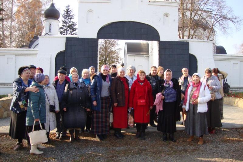 Прихожане Покровского храма села Натальевка побывали в женском монастыре в честь иконы Божьей Матери «Всецарица» Краснодара