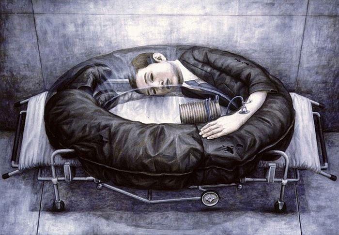 Картина японского художника Тэцуя Исида