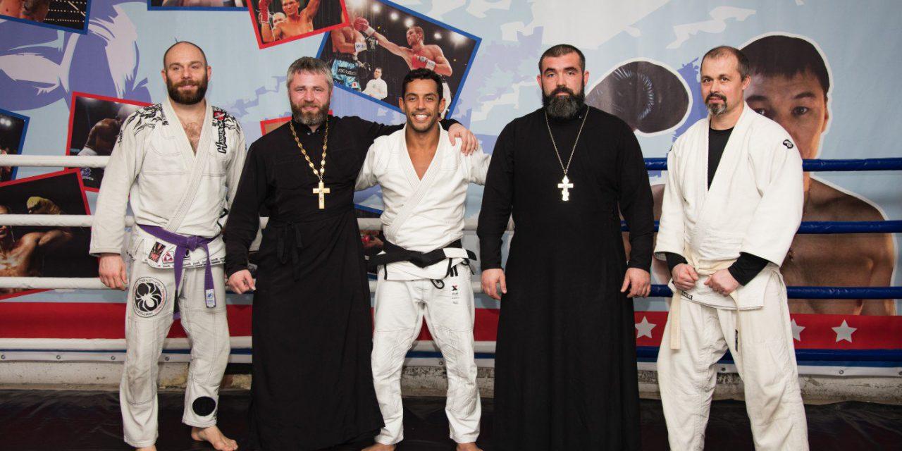 Знаменитый спортсмен Андре Монтеро провёл семинар по джиу-джитсу в православном спортивно-патриотическом клубе «Ставрос»