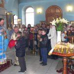В Магдалининском храме с. Андреево-Мелентьево учащиеся Носовской школы причастились Святых Христовых Таин