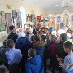 В Вознесенском приходе состоялись занятия для учащихся и учителей младших классов Новобессергеневской средней школы