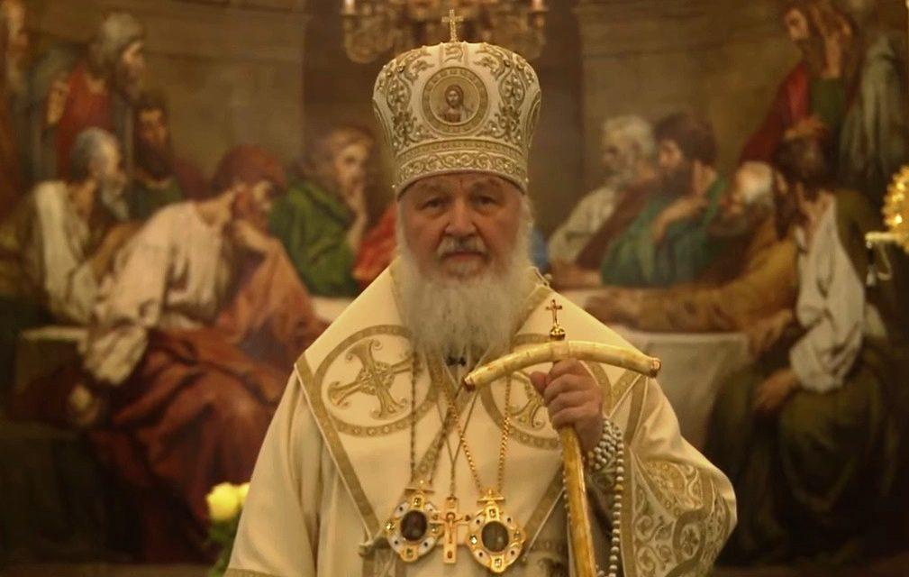 Святейший Патриарх Кирилл совершил молебное пение на новолетие
