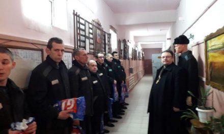 Ответственный за тюремное служение в благочинии поздравил заключенных СИЗО № 2 с Новолетием и Рождеством Христовым