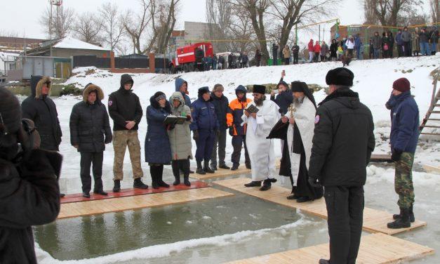 В праздник Крещения Господня в Таганроге прошли традиционные купания в открытых водоёмах