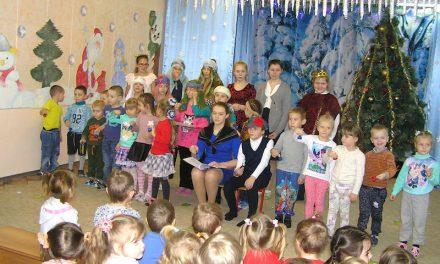 В детском саду «Сказка» с. Андреево-Мелентьево прошел рождественский утренник