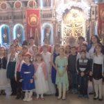 Во Всехсвятском храме села Синявское прошел утренник, приуроченный к Рождеству Христову