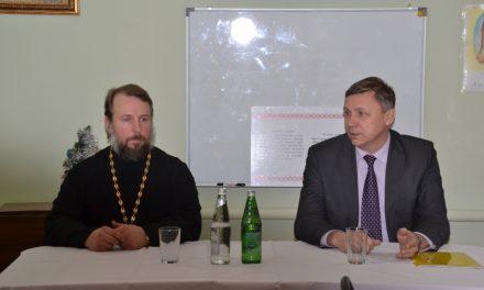 Духовник Неклиновского казачьего юрта принял участие в совещании атаманов казачьих обществ Таганрогского округа