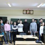 Диакон Георгий Канча поговорил с молодежью Георгиевского храма о семейных ценностях