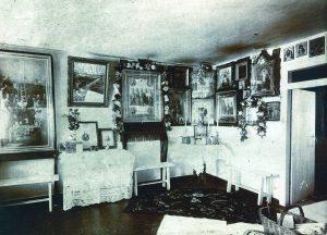 Внутренний вид келии, 20 век