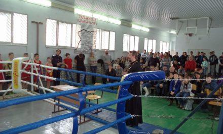 На территории Неклиновского казачьего юрта прошёл открытый турнир по боксу среди молодых казаков