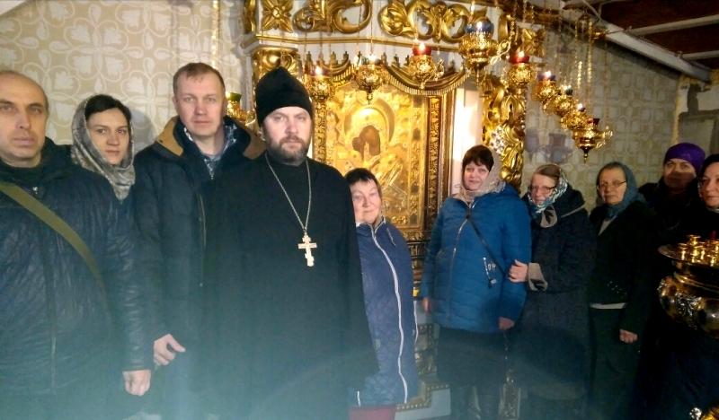 Паломники из числа прихожан Покровского храма с. Натальевка посетили Ростовский кафедральный собор Рождества Пресвятой Богородицы