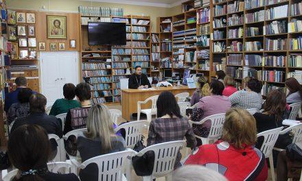 Благочинный таганрогского округа протоиерей Алексей Лысиков провел семинар для учителей Основ православной культуры