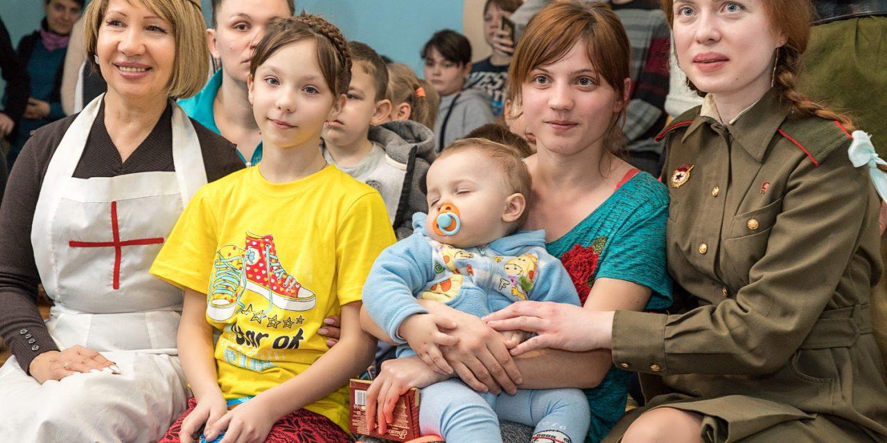 Волонтеры Елисаветинского сестричества милосердия провели в детской больнице встречу, посвященную Дню защитника Отечества