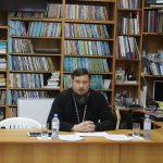 Состоялась вторая встреча благочинного приходов таганрогского округа протоиерея Алексея Лысикова с учителями Основ православной культуры