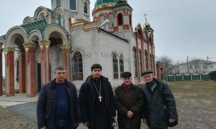 Специалисты провели осмотр технического состояния здания храма Александра Невского с. Вареновка