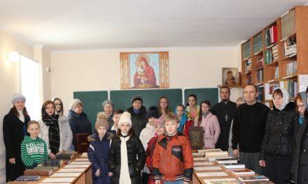 В Одигитриевском храме Таганрога прошло мероприятие, посвященное Дню православной книги