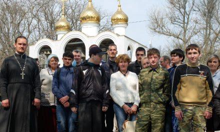 В храме Иерусалимской иконы Божией Матери г. Таганрога прошёл праздник древонасаждения