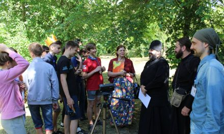 Воскресная школа Георгиевского храма отметила окончание учебного года школьным кинофестивалем